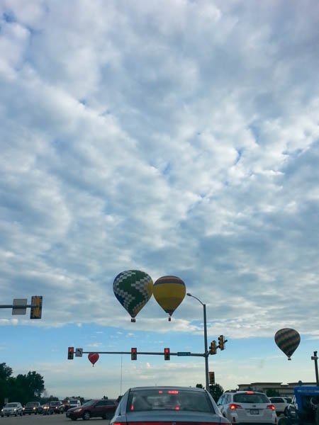 Ballons over Lafayette